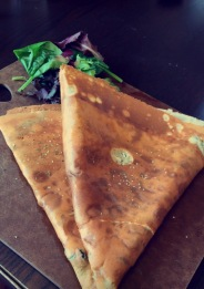 Spinach and Feta Crepe