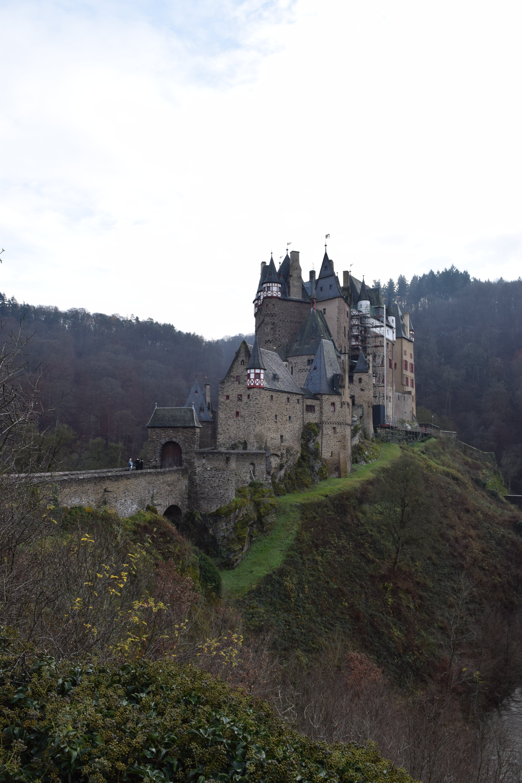 Burg Eltz medieval castle on a hill in Germany