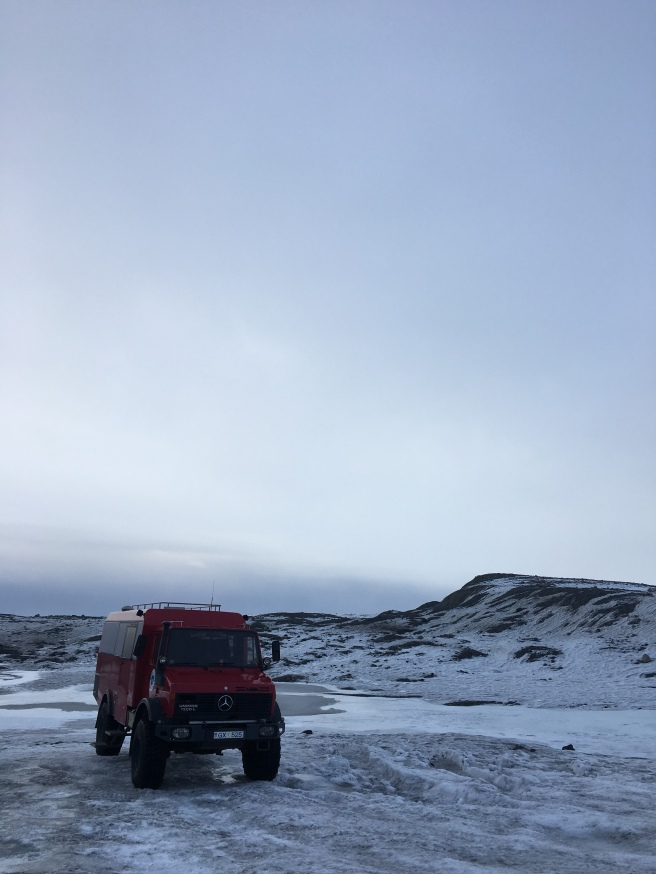 Ice cave tour with Arctic Adventures in Iceland