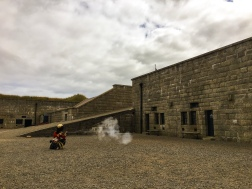Gun Shooting Show at Halifax Citadel