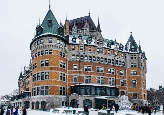 Chateau Frontenac Winter Quebec City