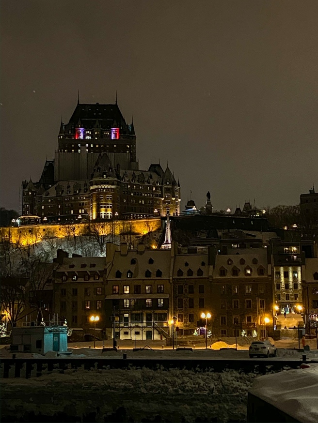 Chateau Frontenac Hill