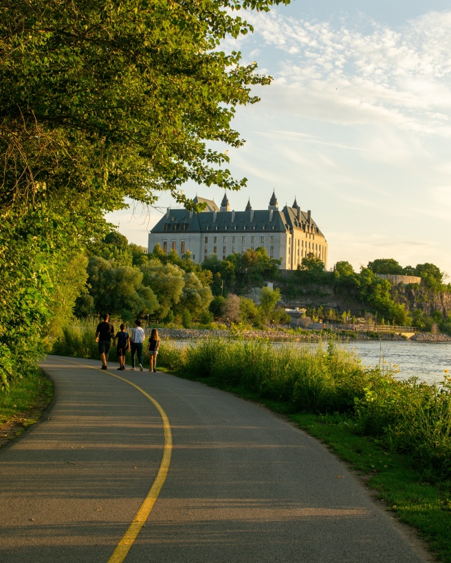 Ottawa River Pathway and Trans Canada Trail
